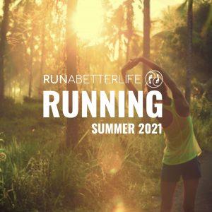 Female runner with runabetterlife playlist